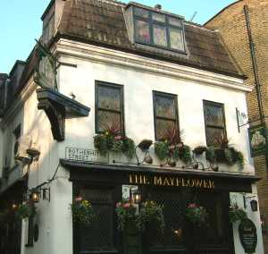 Rotherhithe_Mayflower